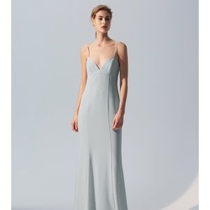 BHLDN Amsale Blair Bridesmaid Gown